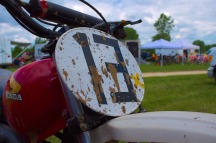 Denmark MX Growlerzoom Midwest Vintage Motocross MR175 Number Plate